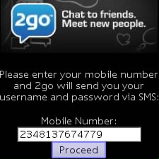 Retrieve Your 2GO Password Without Phone Number Or Sim Card